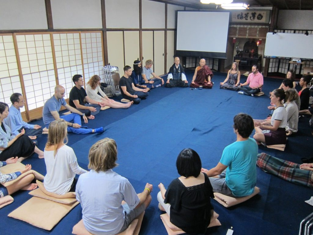 Young Global Leaders Meditation Workshop - One Dharma ...